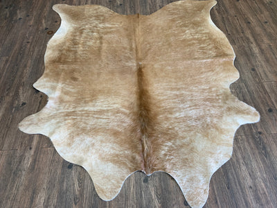 Real Leather Cowhide Cow15 by Rug Factory Plus