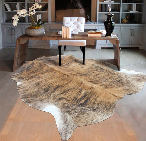 Real Leather Cowhide Cow3 by Rug Factory Plus - Rug Factory Plus