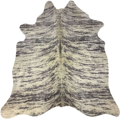Real Leather Metallic Cowhide Cow4 by Rug Factory Plus