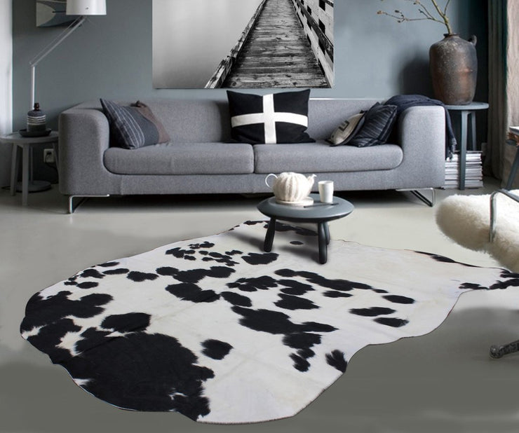 Real Leather Cowhide Cow7 by Rug Factory Plus - Rug Factory Plus