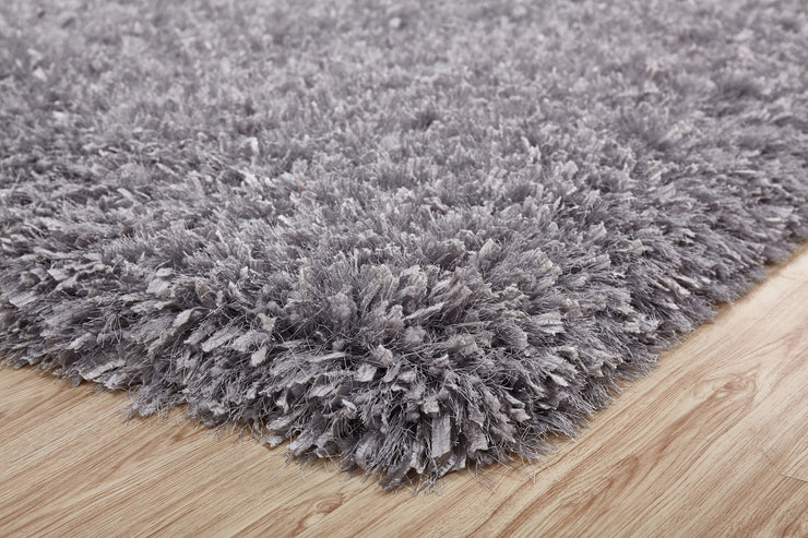 "Modern Multi-textural Appx. 3"" High Pile Crystal Shag Area Rug by Rug Factory Plus - Rug Factory Plus"