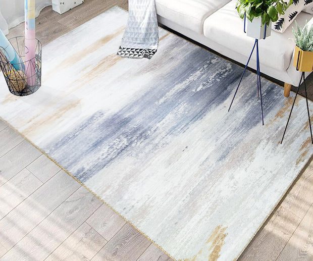 Vintage Style Soft Polyester Print on Design Elevate 245 Area Rug by Rug Factory Plus - Rug Factory Plus