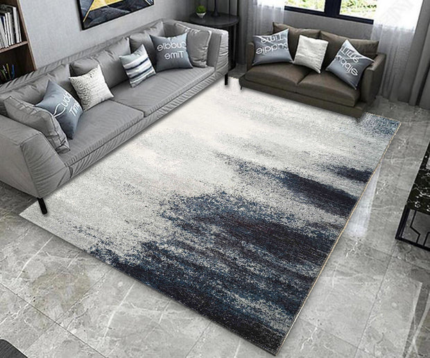 Vintage Style Soft Polyester Print on Design Elevate 246 Area Rug by Rug Factory Plus - Rug Factory Plus