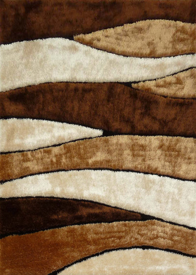 Luxurious Hand Carved Vibrant Living Shag 120 Area Rug by Rug Factory Plus