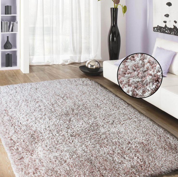 "Hand Tufted Luxury Marble Shag Appx. 3"" Pile Polyester Area Rug by Rug Factory Plus - Rug Factory Plus"
