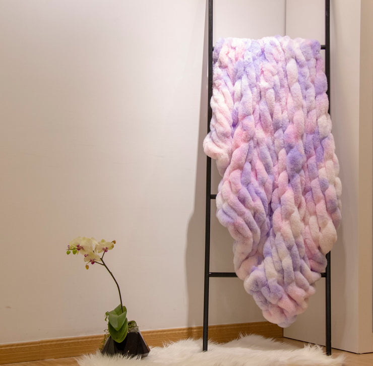 Nuevo Cotton Candy Throw by Rug Factory Plus