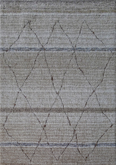 Velvet Soft Hand Tufted Modern Moro Shag 1200 Area Rug by Rug Factory Plus