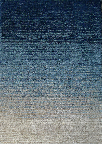Velvet Soft Hand Tufted Modern Moro Shag 1202 Area Rug by Rug Factory Plus - Rug Factory Plus