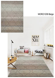 Velvet Soft Hand Tufted Modern Moro Shag 1208 Area Rug by Rug Factory Plus - Rug Factory Plus