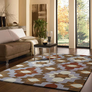 Indoor/Outdoor Loop Pile Water Repellent Vivid Out4 Area Rug by Rug Factory Plus - Rug Factory Plus