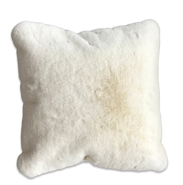 Modern Soft Luxury Chinchilla Feel Faux Fur Pillow by Rug Factory Plus - Rug Factory Plus