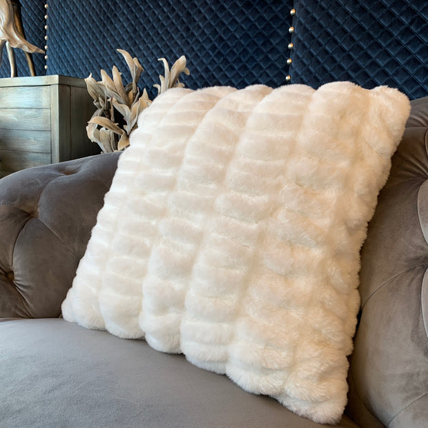 Luxurious Hand Crafted Faux Fur Nuevo Pillow by Rug Factory Plus - Rug Factory Plus