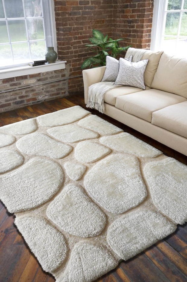 Durable Hand Carved Heavy Rock Shag Area Rug by Rug Factory Plus - Rug Factory Plus