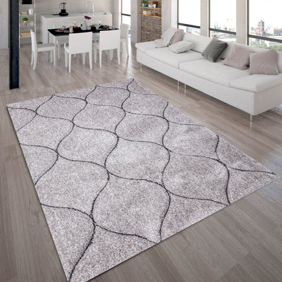 "Three Dimensional Plush Hand Carved Appx. 2"" Pile Sorrento 720 Shag Area Rug by Rug Factory Plus"