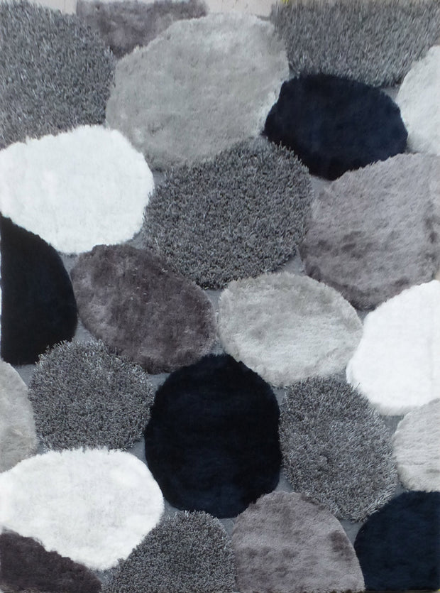 Hand Tufted Multi-textural Designer Shag S.V.D. 25 Area Rug by Rug Factory Plus - Rug Factory Plus