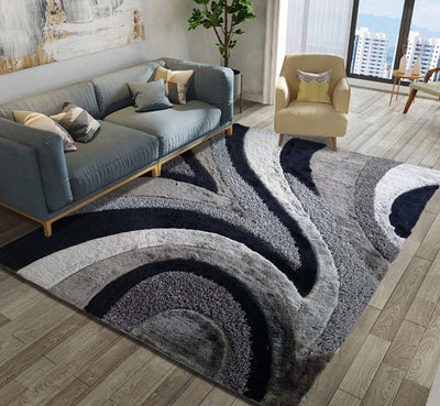 Hand Tufted Multi-textural Designer Shag S.V.D. 26 Area Rug by Rug Factory Plus
