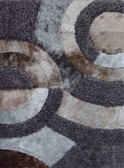 Hand Tufted Multi-textural Designer Shag S.V.D. 27 Area Rug by Rug Factory Plus - Rug Factory Plus