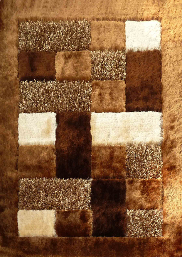 Hand Tufted Multi-textural Designer Shag S.V.D. 30 Area Rug by Rug Factory Plus - Rug Factory Plus