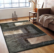 Hand Tufted Multi-textural Designer Shag S.V.D. 35 Area Rug by Rug Factory Plus - Rug Factory Plus