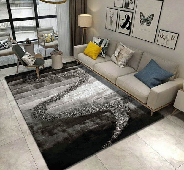 Hand Tufted Multi-textural Designer Shag S.V.D. S10 Area Rug by Rug Factory Plus - Rug Factory Plus