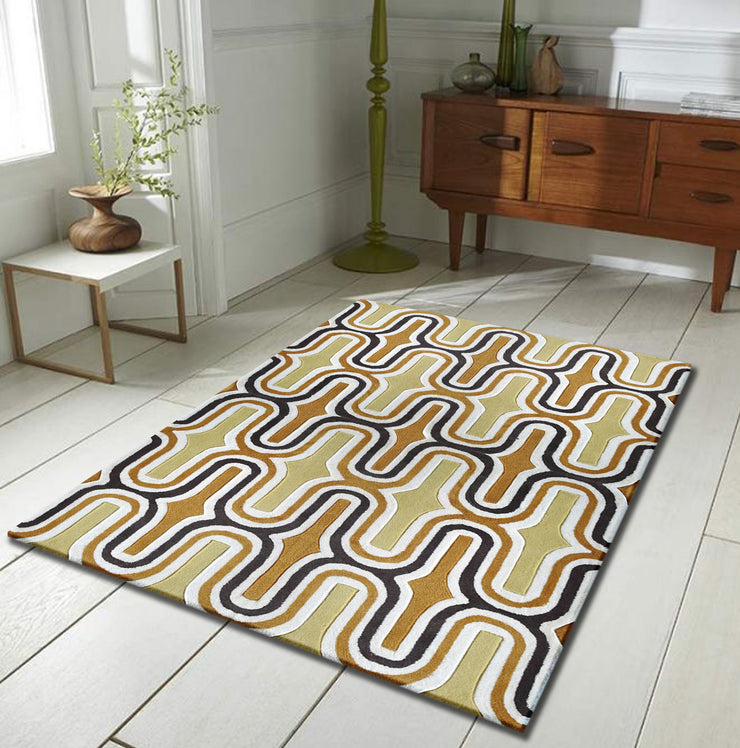 Durable Hand Tufted Transition TF36 Area Rug by Rug Factory Plus - Rug Factory Plus
