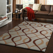 Durable Hand Tufted Transition TF65 Area Rug by Rug Factory Plus - Rug Factory Plus