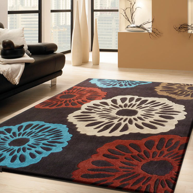 Durable Hand Tufted Transition TF69 Area Rug by Rug Factory Plus - Rug Factory Plus