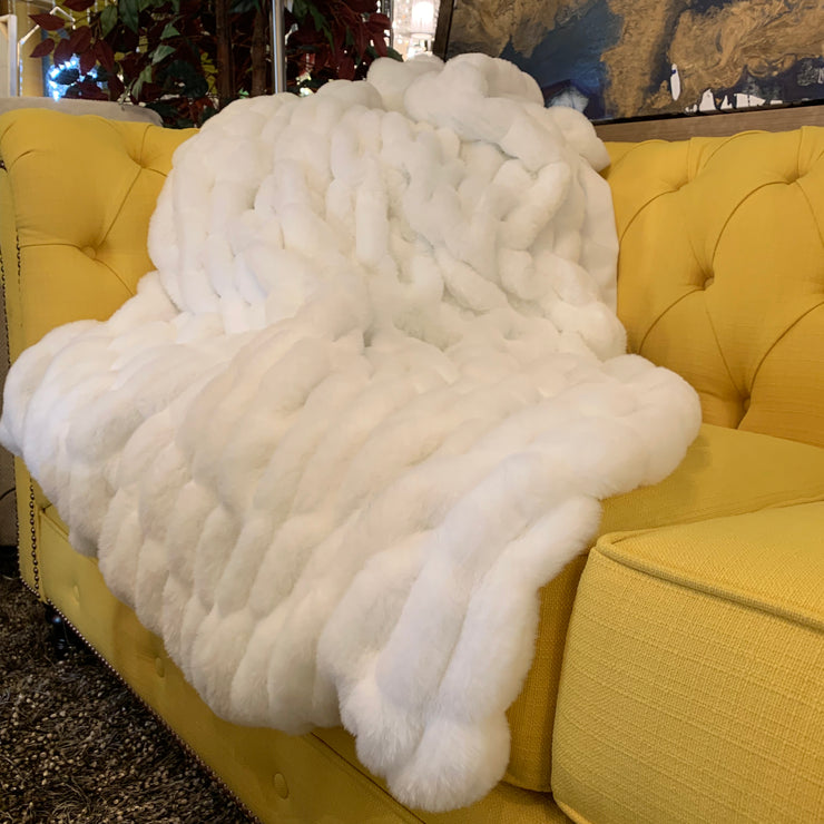 Luxurious Hand Crafted Faux Fur Nuevo Throw by Rug Factory Plus - Rug Factory Plus