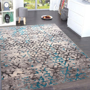 Power Loomed Soft Damask Design Tara 308 Area Rug by Rug Factory Plus - Rug Factory Plus