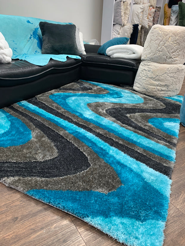 Living Shag 112 Area Rug by Rug Factory Plus