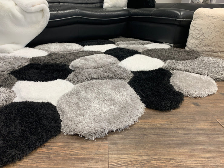Sorrento 732 Shag Area Rug by Rug Factory Plus