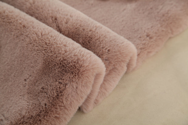Modern Soft Luxury Chinchilla Feel Faux Fur Area Rug by Rug Factory Plus - Rug Factory Plus