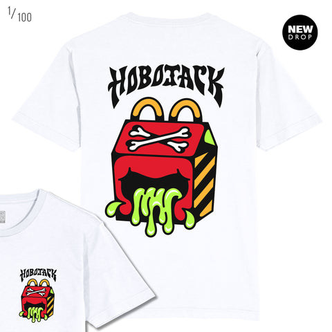 JcDONALDS - ASH PRICE COLLAB - WHITE T-SHIRT