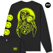 BLACK & LUMO NO FUTURE SMILEY LONG SLEEVE