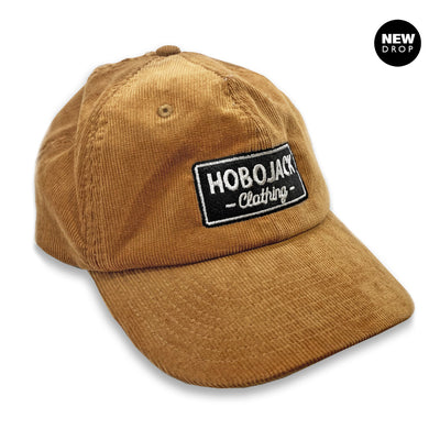 CORDUROY TAN EMBROIDERED JIMMY HERITAGE CAP