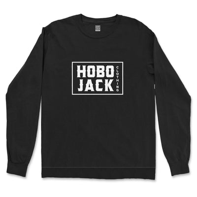BOX LOGO BLACK SWEATSHIRT