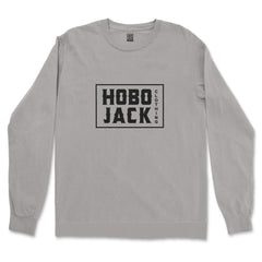 BOX LOGO GREY SWEATSHIRT