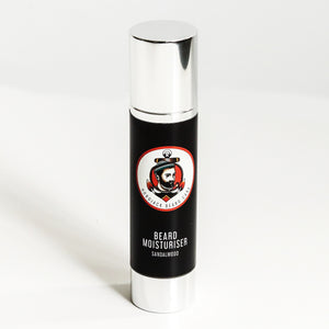 Beard Moisturiser - Sandalwood - 100ml (Large Bottle) By Hobo Jack