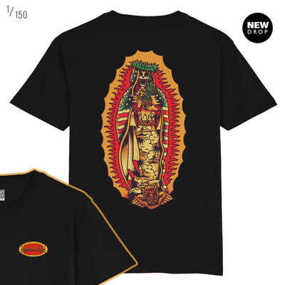 JAMES SHANNON COLLAB - HAIL MARY BLACK T-SHIRT