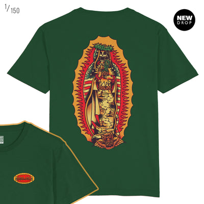 JAMES SHANNON COLLAB - HAIL MARY GREEN T-SHIRT