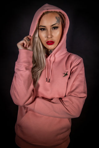 ECO OVR 1ST EDT CANYON PINK HOODY