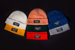 RIBBED BEANIE - VARIOUS COLOURS