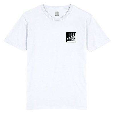 HJ BOARD EMBLEM WHITE POCKET T-SHIRT