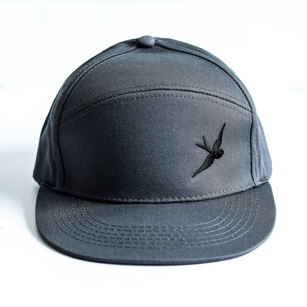 Classic Swallow Pitcher Cap - Originals Collection - Gunmetal/Black