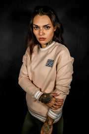 LIGHT ROSE WOMENS -  EMBLEM LEGACY - SWEATSHIRT