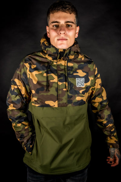 TRAD CAMO - CBT20 - PULLOVER - SHERPA LINING