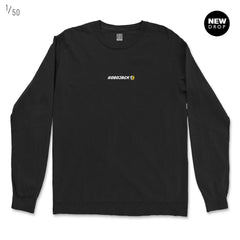 SMILEY JACK 90s EDT BLACK SWEATSHIRT