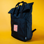Hobo Jack 'Nomad Rolltop' Backpack Black