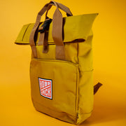 Hobo Jack 'Nomad Rolltop' Backpack Mustard