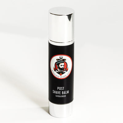 Post Shave Balm - Bleu Noir - 100ml (Large Bottle) By Hobo Jack